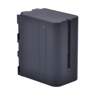LRSA video camera battery np-f980, np-f970 ,np-f960 for Sony | 20400 mAh, 7.4 V