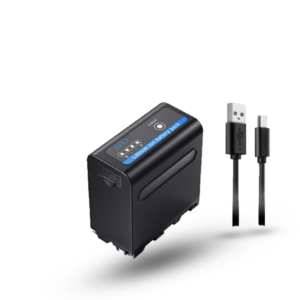 LRSA video camera battery np-f970,np-f960 PRO WITH USB