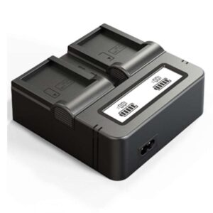 LRSA Double Battery LCD charger for Sony np-f990, np-f980, np-f970, np-f960, np-f770, np-f550 DSLR